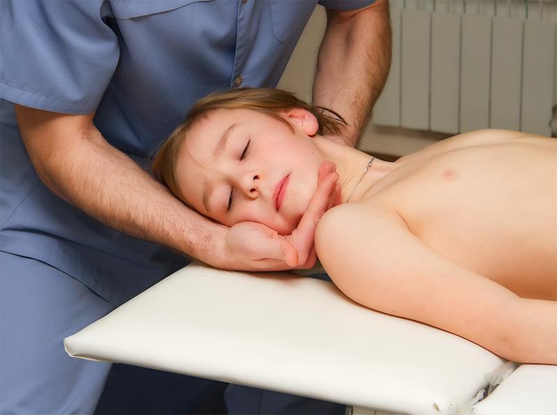 Лечение у остеопата